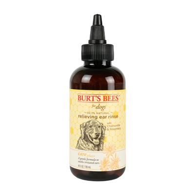 Burt's Bees Care Plus+ Relieving Ear Rinse + Chamomile & Rosemary For Dogs, 4oz