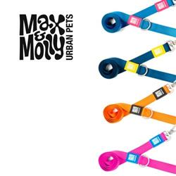 Max & Molly Simply Pure Collection, Durable Nylon Leashes