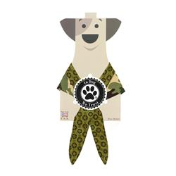 Camo Bandana by In Dog We Trust™ Pack of 3