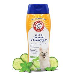 Arm & Hammer 2-in1 Shampoo & Conditioner for Pets - Cucumber Mint