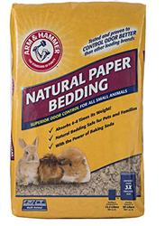 Arm & Hammer Natural Paper Bedding for All Small Animals, 12.5 Liters (Expands to 30 Liters)