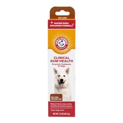 Arm & Hammer Clinical Gum Health Enzymatic Toothpaste for Dogs in Beef Flavor, 2.5 Ounces