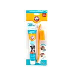 Arm & Hammer Fresh Breath Dental Kit for Dogs, Chicken