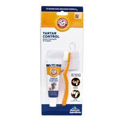 Arm & Hammer Tartar Control Dental Training Kit for Puppies, Vanilla Ginger