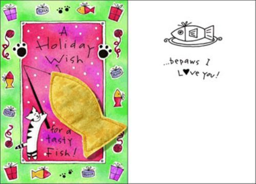 Purr-fect Greetings - Holiday Wish