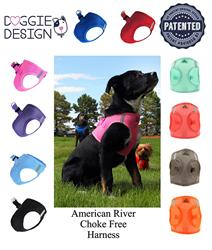American River Ultra Choke Free Soft Mesh Dog Harness™