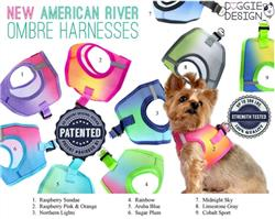 Ombre American River Choke Free Harnesses