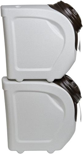 Vittles Vault Home Stackable Food Storage Container 18 lbs