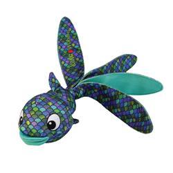 KONG® Wubba™ Finz Blue Dog Toy
