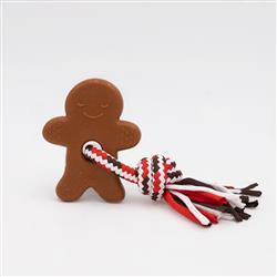 Holiday ZippyTuff Teether - Gingerbread Man