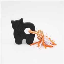 Halloween ZippyTuff Teether Black Cat
