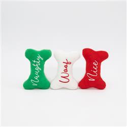 Holiday Miniz 3-Pack  Naughty and Nice Bones
