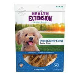 Health Extension Dental Bones - Peanut Butter Flavor