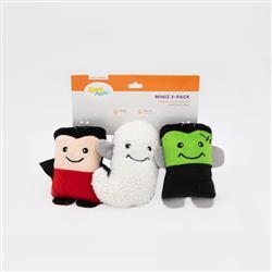 Halloween Miniz - Monsters 3-Pack
