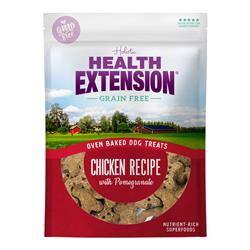 Health Extension Oven Baked Dog Treats Chicken with Pomegranate