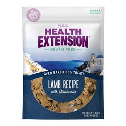 Health Extension Oven Baked Dog Treats Lamb Recipe with Blueberries
