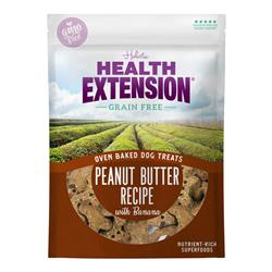 Health Extension Oven Baked Dog Treats Peanut Butter Recipe with Banana