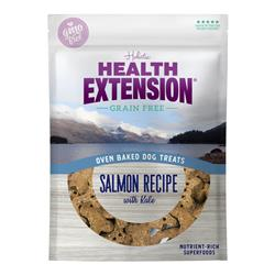 Health Extension Oven Baked Dog Treats Salmon with Kale