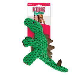 KONG® Dynos™ Stagosaurus Dog Toy - Green