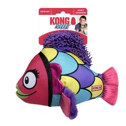 KONG® Reefz Fish Dog Toy - Assorted Colors