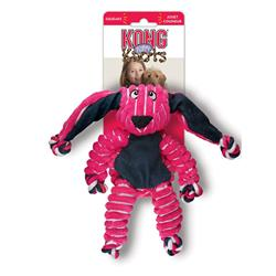 KONG® Floppy Knots Bunny Dog Toy