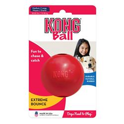 KONG® Classic Ball Dog Toy - Red