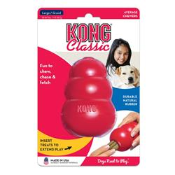 KONG® Classic Dog Toy - Red