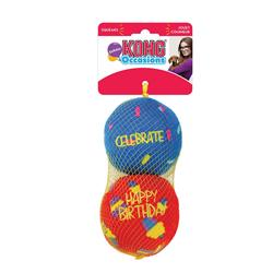 KONG® Occasions Birthday Balls Dog Toy - Assorted Colors