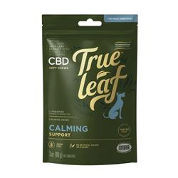 True Leaf™ Broad Spectrum Hemp Leaf CBD CALMING Support Chews