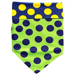 Protective Bandana - Blue/Green/Yellow