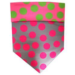 Protective Bandana - Green/Pink/Grey