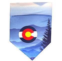 Protective Bandana - Colorado Mountains