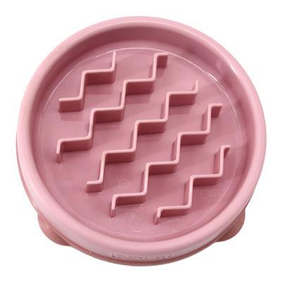 Fun Feeder Slo-Bowl - Pink Wave SM