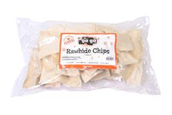 GoGo® 1 lb. White Rawhide Chips