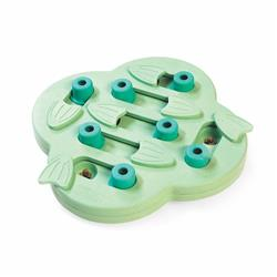 Nina Ottosson Puppy Hide N' Slide Interactive Treat Puzzle Dog Toy - Green