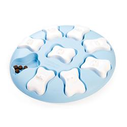 Nina Ottosson Puppy Smart Interactive Treat Puzzle Dog Toy - Blue Plastic