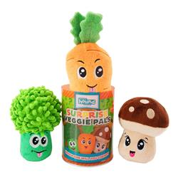 Surprise Veggie Pals Dog Toys - Assorted X-Small
