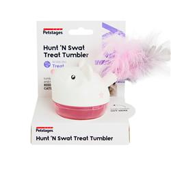 Hunt 'N Swat Treat Tumbler Treat Dispensing Cat Toy