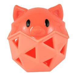 Orange Fox Treat Stuffer Dog Toy