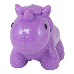 Purple Unicorn Treat Stuffer Dog Toy