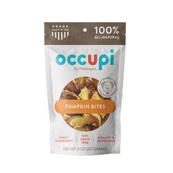 Occupi Pumpkin Bites Dog Treats, 8 oz