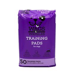 "Wags & Wiggles 21"" x 21"" Training Pad - 50 Count"