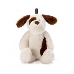 NANDOG MY BFF DOG BEIGE/BROWN PLUSH PET TOY
