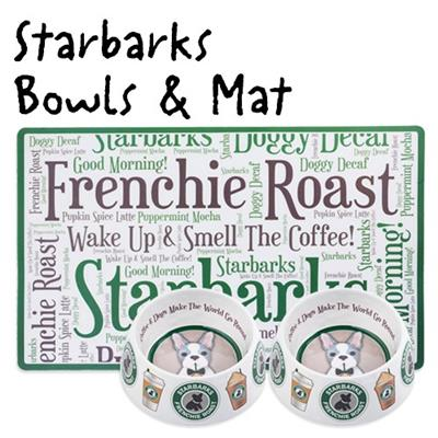 Drop Ship Bundle #26 - Starbarks Bowls & Mat