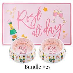 Drop Ship Bundle #27 - Rose All Day Bowls & Mat