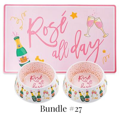 Drop Ship Bundle #27 - Rose All Day Bowls & Mat