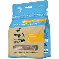 Nandi Kalahari Lamb Freeze-Dried Meat Dog Treats - 2oz. Bags