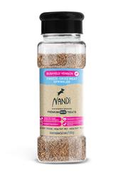 Nandi Bushveld Venison Freeze-Dried Meat Sprinkles (Food Topper) - 2oz. Jar