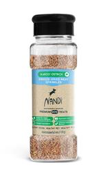 Nandi Karoo Ostrich Freeze-Dried Meat Sprinkles (Food Topper) - 2oz. Jar