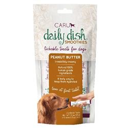 Daily Dish Smoothies Lickable treats for Dogs - Peanut Butter Flavor